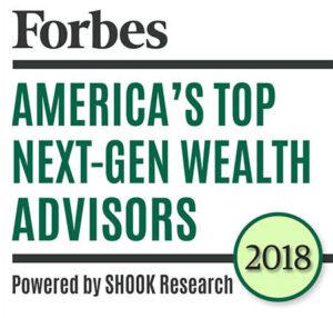 Forbes Top Next-Gen Wealth Advisor 2018