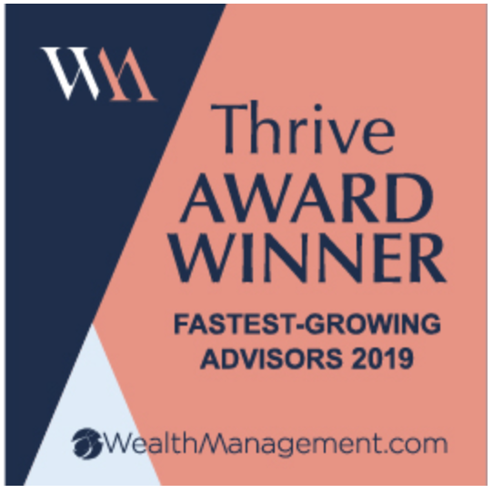 Thrive Award Winner 2019